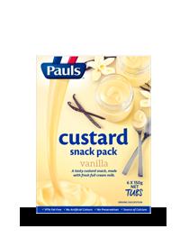 Vanilla Custard Snack Pack