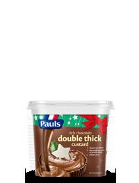 Double Thick Chocolate Custard