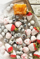 Mixed Frozen Yoghurt Berries