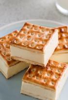 Custard Cheesecake Slice