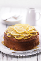 Lemon Syrup Yoghurt Cake