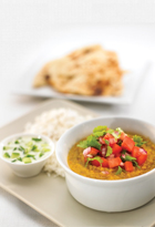 Lentil Dahl With Caraway Seed Rice