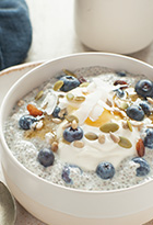 Seasonal Chia Pudding