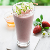Strawberry & Cucumber Cooler Smoothie