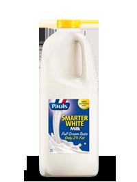 Smarter White Milk