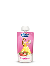 Disney Princess Strawberry Yoghurt Pouch