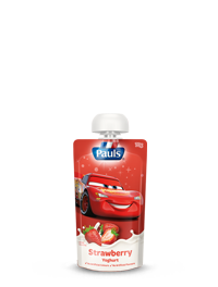 Cars Strawberry Yoghurt Pouch