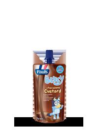 Bluey Chocolate Custard Pouch