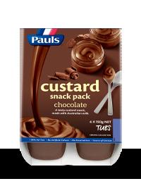 Chocolate Custard Snack Pack 6x150g