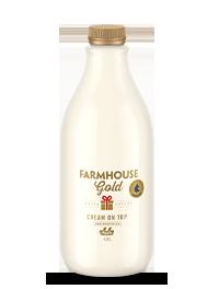 Farmhouse Gold Cream On Top