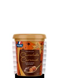 Chocolate Caramel Premium Custard