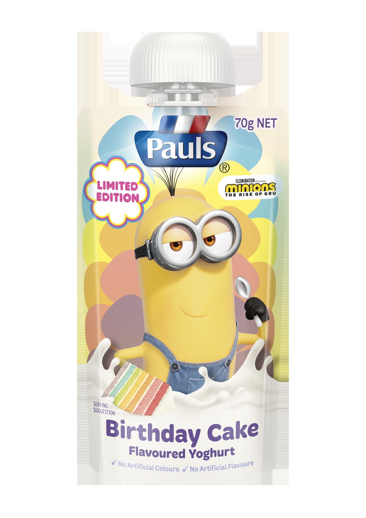 Limited Edition Birthday Cake Flavoured Yoghurt